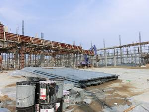 タイ工場建築