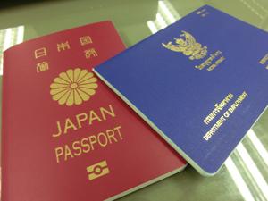 タイ労働許可証とビザ