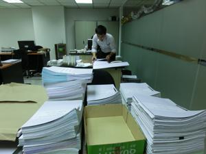 タイ会計税務書類